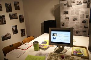 Arbeits- und Archivbereich