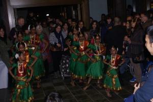Schülerinnen der Tamilischen Schule